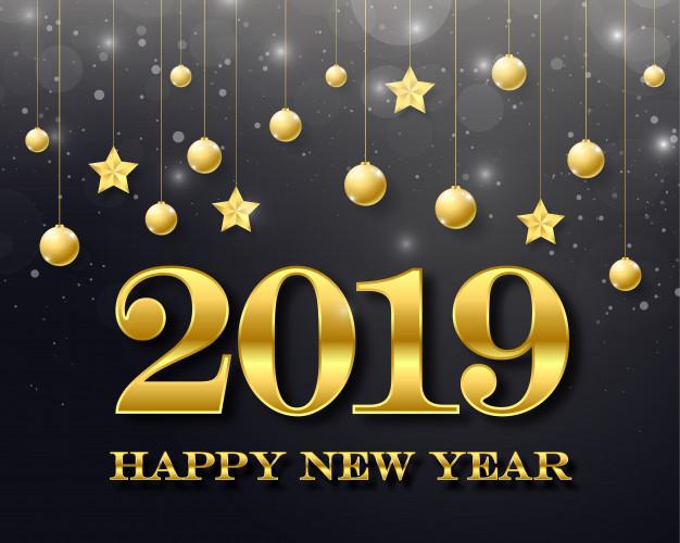 """صور العام الجديد 2019 """"Happy New Year""""..أجمل تهنئة برأس السنة الميلادية للأهل والأصحاب"""