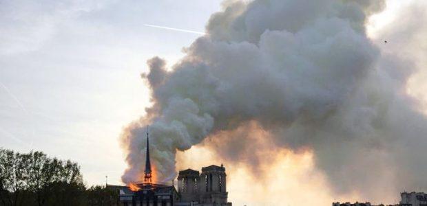 حملات تبرع في أمريكا لصالح الكاتدرائية نوتردام