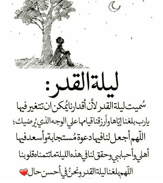 دعاء وفضل ليلة القدر من القرآن والسنة..وصور أدعية في العشر الأواخر 3