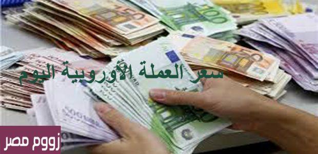 سعر اليورو اليوم الثلاثاء 25 يونيو في البنوك والسوق السوداء
