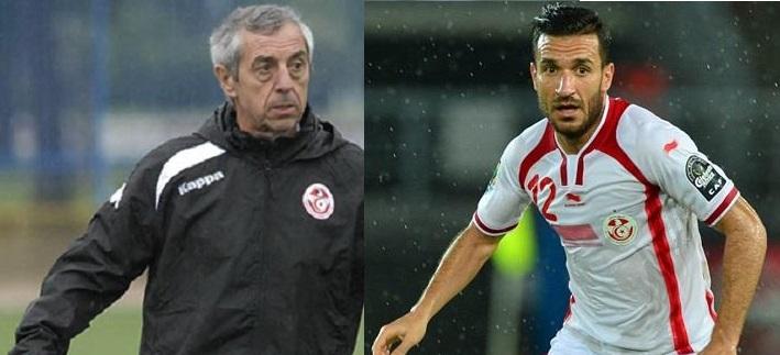 تعرف على سبب استبعاد معلول من قائمة منتخب تونس في كأس أمم إفريقيا