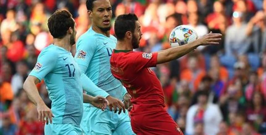 مباراة البرتغال وهولندا، نهائي دوري الأمم الأوروبية.