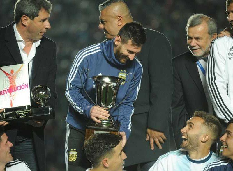 استعداداً لكوبا آمريكا .. ميسي يقود الأرجنتين للفوز على نيكاراجوا بخماسية وحصد كأس سان خوان الشرفي