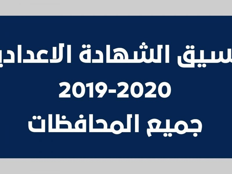 قواعد تنسيق الإعدادية 2019 في جميع المحافظات والأوراق المطلوبة للتقديم للثانوي
