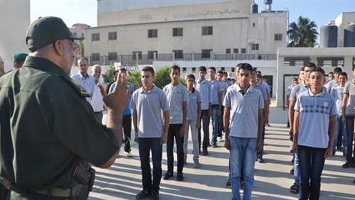 أوراق التقديم في المدارس الثانوية العسكرية