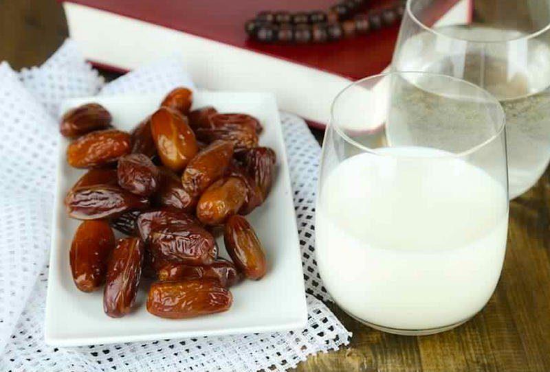 رجيم التمر والحليب أفضل رجيم سريع لانقاص 5 كيلو في أسبوع