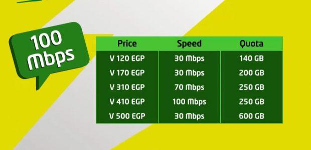 باقات الـ VDSL الانترنت الجديدة من اتصالات