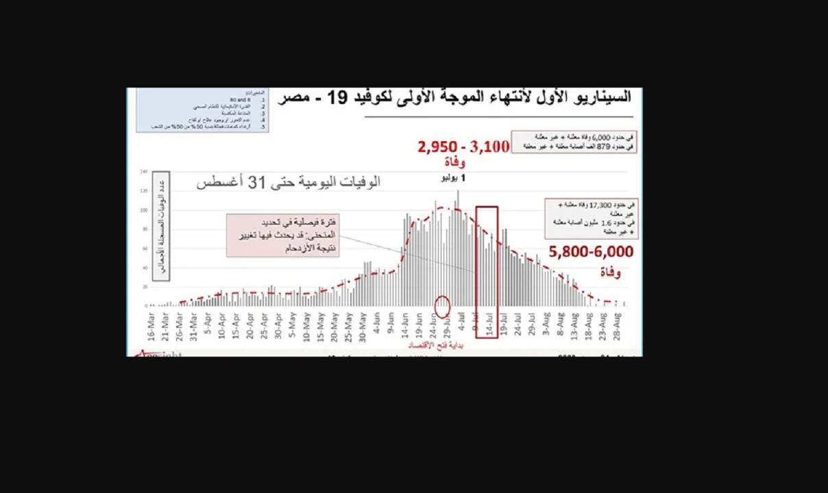خبير وبائيات يوضح بالأرقام موعد إنخفاض معدلات الإصابة بكورونا في مصر