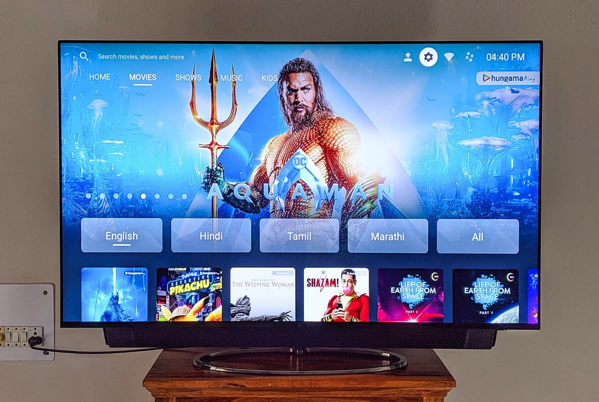 One Plus يطرح بالأسواق 3 أجهزة تلفاز بسعر مغري يبدأ من 174 دولارً فقط